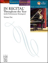 In Recital Throughout The Year Vol 1 Bk 1 Book &amp; Cd