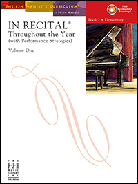In Recital Throughout The Year Vol 1 Bk 2 Book & Cd