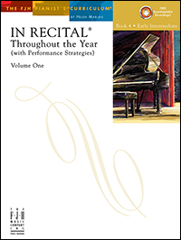 In Recital Throughout The Year Vol 1 Bk 4 Book & Cd
