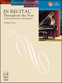 In Recital Throughout The Year Vol 2 Bk 1 Book & Cd