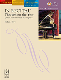 In Recital Throughout The Year Vol 2 Bk 3 Book & Cd