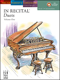In Recital Duets Vol 1 Bk 5 Book & Cd