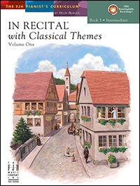 In Recital With Classical Themes Vol 1 Bk 5 Book & Cd