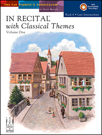 In Recital With Classical Themes Vol 1 Bk 6 Book &amp; Cd