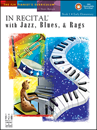 In Recital With Jazz, Blues, & Rags 1 Bk & Cd