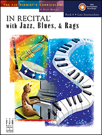 In Recital With Jazz, Blues, & Rags 6 Bk & Cd