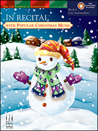 In Recital With Popular Christmas Music 6, Bk &amp; Cd