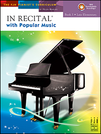 In Recital with Popular Music, Book 3