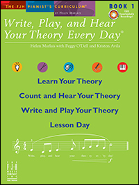 Write Play & Hear Your Theory Every Day 1, Bk & Cd