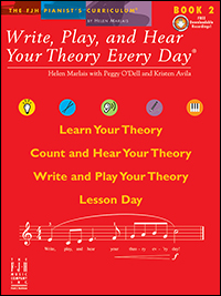 Write Play &amp; Hear Your Theory Every Day 2, Bk &amp; Cd