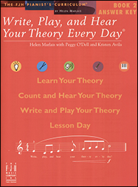 Write Play & Hear Your Theory Every Day 2, Answer Key
