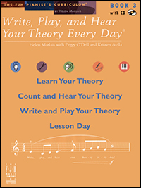 Write Play &amp; Hear Your Theory Every Day 3, Bk &amp; Cd