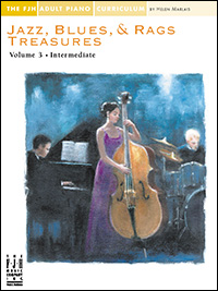 Jazz, Blues, &amp; Rags Treasures Vol 3 Adult Curiculum