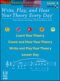 Write Play & Hear Your Theory Every Day 4, Bk & Cd