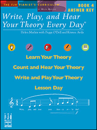 Write Play & Hear Your Theory Every Day 4, Answer Key