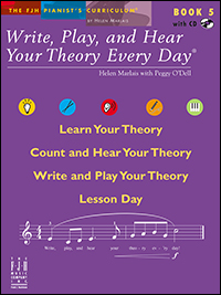 Write Play & Hear Your Theory Every Day 5, Bk & Cd
