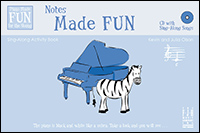 Notes Made Fun Sing Along Activity Book