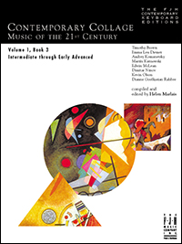 Contemporary Collage Music Of The 21st Century Vol 1, Bk 3