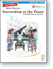 Recital 3 With Cd, Succeeding At The Piano